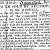 1834 Reading Mercury Stock sale at Anvilles